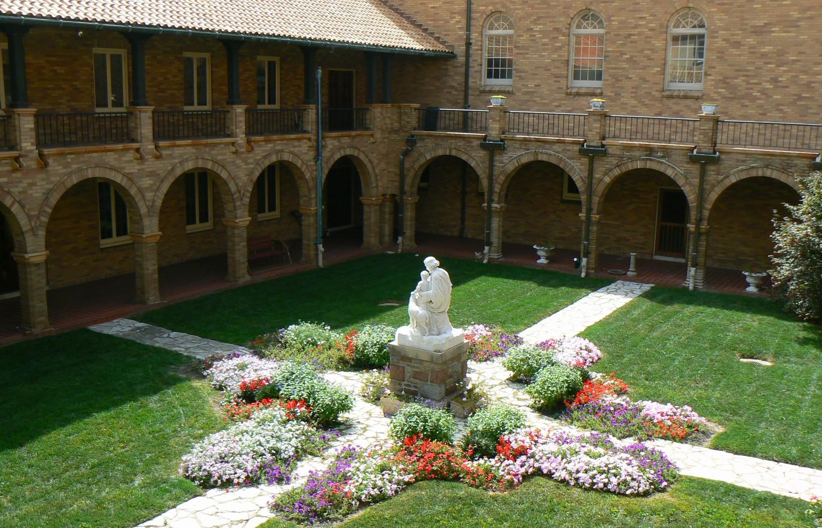 Carmel of St Joseph Cloister Courtyard